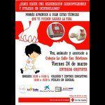 Cruz Roja organiza en Tenerife una jornada de Primeros Auxilios abierta al público