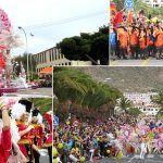 Más de 30.000 personas disfrutan del Coso del Carnaval de Los Cristianos
