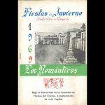 Rescatan un ejemplar de un programa de las Fiestas de Invierno de la rondalla 'Los Románticos'