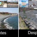 Playa la Enramada un antes y un después de gastar 688.000 euros