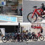 El mundo al revés con los parking para bicicletas de Arona