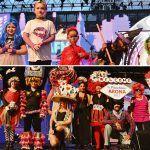 Los pelucones más originales llenan el escenario del Carnaval de Los Cristianos con la Wig Party