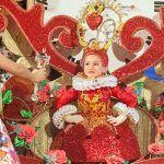Ainhoa Vicente Navarro, Reina infantil del Carnaval de Los Cristianos 2017