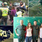 La Guardia Civil rescata a dos senderistas atrapadas en una ladera de la isla de La Gomera