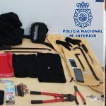 Detidos in fraganti cuando forzaban la puerta de una oficina en Las Palmas de G.C.