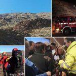 Las 75 personas del accidente del teleférico del Teide fueros rescatadas sanas y salvas