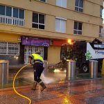 'Granadilla más limpia' continúa con su plan integral de limpieza iniciado en El Médano