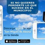 La aplicación municipal de San Miguel para móvil  y tablet ya cuenta con más de 400 usuarios