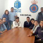 Clase práctica de emergencias con el alumnado del IES Magallanes de San Miguel