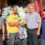 El Ayuntamiento de San Miguel de Abona recoge 950 kilos de tapones solidarios