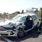 Bomberos de Tenerife intervienen en un accidente en Los Cristianos y un incendio en San Miguel