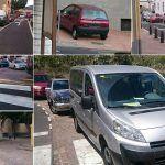 Falta de aparcamientos y abuso de los conductores en Arona Casco
