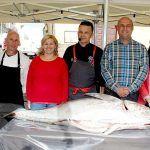 Un atún de casi 100 kilos se subasta con fines solidarios en 'Sensaciones Más que Mar'