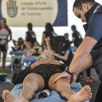 El Colegio Oficial de Fisioterapeutas se estrena en el Magma Bike de El Hierro