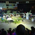 90 vecinos y vecinas se vuelcan en la representación de la Pasión de Valle San Lorenzo