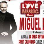 Miguel Bosé encabeza el Love Music Festival, el evento más potente del verano en Canarias