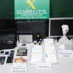 Incautado más de tres kilogramos de cocaína en La Palma