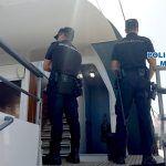 Policía e Inspección de Trabajo controlan una fiesta que se iba a celebrar en un barco en Puerto Colón