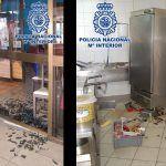 Detenido tras un robo con fuerza en un restaurante de Puerto del Rosario