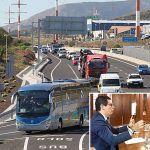 El vicepresidente del Gobierno se compromete con los Empresarios del Sur a elaborar un Plan de Movilidad