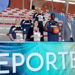 Un centenar deportistas en el Primer Torneo Junior Nacional de Baloncesto de Granadilla