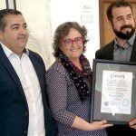 Adeje recibe el certificado de municipio concienciado con la prevención y seguridad en espacios marítimos