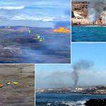 Podemos Adeje denuncia un atentado medioambiental con fuego en Diego Hernández