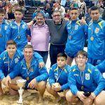 El Club de Lucha Chimbesque de San Muguel, campeón de la Liga de Tenerife de cadetes