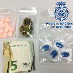 Detienen a un hombre en Arona al que se le incautó éxtasis, marihuana y otras pastillas