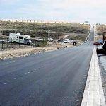 La última fase de las obras de la travesía de Los Abrigos concluye en una semana