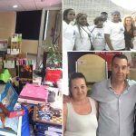 La Librería Gaia de Valle San Lorenzo dona todo el material escolar a la Asociación Yakaar