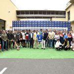 CD Tenerife visita el centro producción de MAHOU