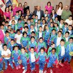 El CEIP La Jurada visita el ayuntamiento y parte del patrimonio cultural del casco de Granadilla