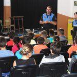 La Policía Local de San Miguel ofrece una charla de seguridad vial a escolares