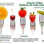 Charla-taller sobre hábitos de vida saludable en Llano del Camello