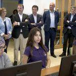 Clavijo analiza con el alcalde de Granadilla las necesidades del mercado laboral del municipio