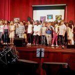 Más de mil escolares interpretan el Himno de Canarias a la vez en todas las islas