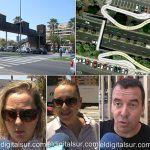 Los ciudadanos están en total desacuerdo con el proyecto del puente peatonal de Los Cristianos
