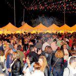 El Parque de Los Hinojeros en Granadilla se llenó de buenas 'Sensaciones' gastronómicas