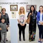 Imágenes, recuerdos y obras pictóricas reflejadas a través del arte del punto de cruz en Granadilla