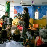 Los pacientes pediátricos del Hospital de La Candelaria reciben 'música en vena' con Fetén Fetén