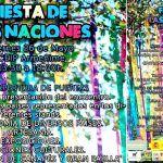 26 de mayo 2ª edición de la fiesta de las naciones del CEIP Armeñime