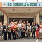 El Instituto de Granadilla homenajea a las promotoras del centro educativo en los años 70