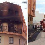 Bomberos de Tenerife extinguen un incendio en una vivienda en San Isidro