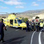 Los helicópteros medicalizados del SUC realizaron cerca de mil traslados de pacientes en 2016