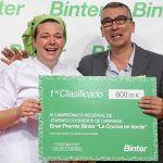 Isamar Dorta Torres gana el 4º Campeonato Regional de Jóvenes Cocineros de Canarias 2017