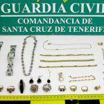 Vecina de El Fraile pretendía vender a una compra venta de oro de Las Galletas un lote de joyas robadas