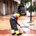 Lanzan una batida de refuerzo de la limpieza de los núcleos del municipio aronero