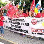 Los trabajadores de Hiperdino se movilizan para pedir mejoras sociales y salariales