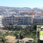 GF Hoteles recibe al alcalde de Adeje en las obras de GF Victoria